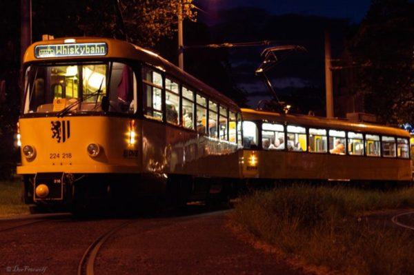 Mit der Whiskybahn durch Dresden - `rauchig, rauchiger, am rauchigsten!`
