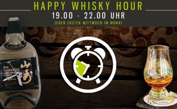 `Happy-Whisky-Hour` Jeden 1.Mittwoch im Monat