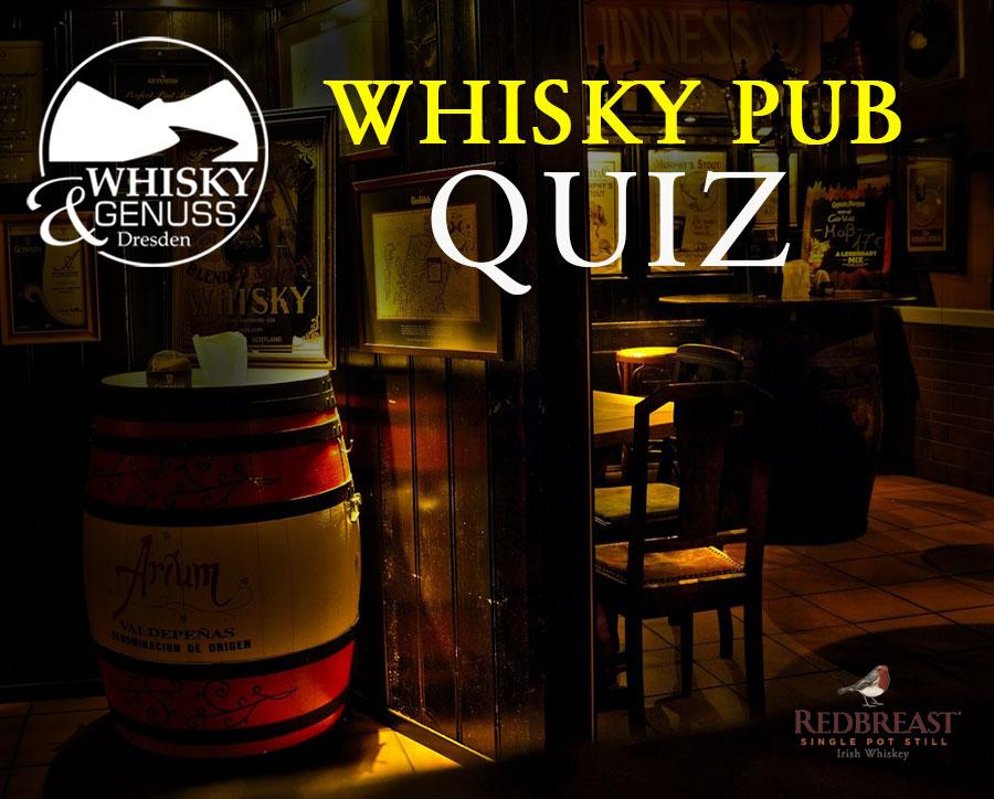 Virtuelles Whisky Pub Quiz - Mit hochprozentigen Gewinnen!