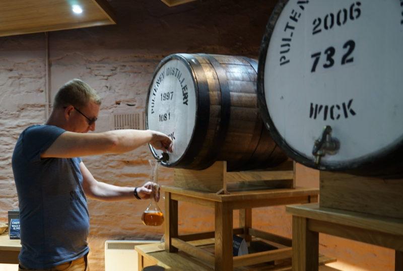 Virtuelles Distillery Only Whisky Raritäten Tasting
