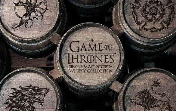 Virtuelles Game of Thrones Whisky Tasting