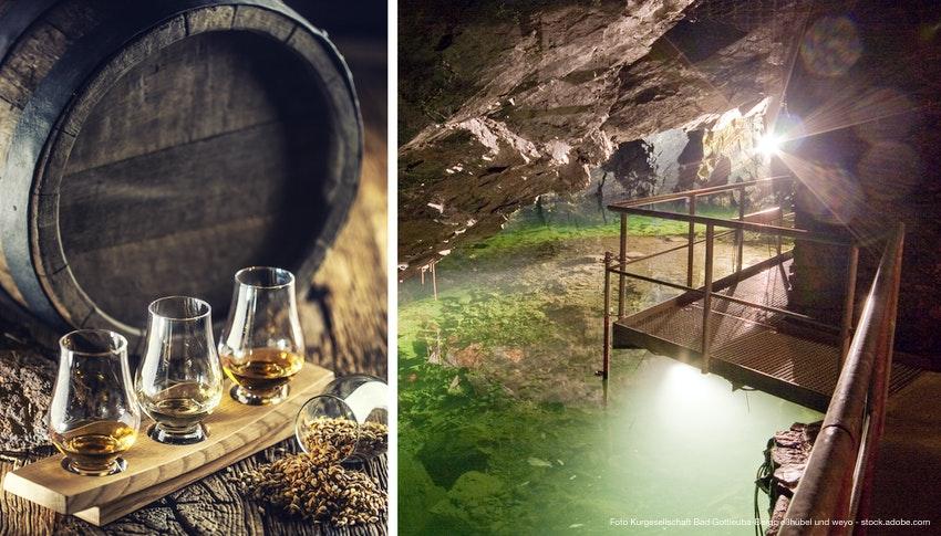 Whisky untertage – Bergwerk und keltische Whiskys